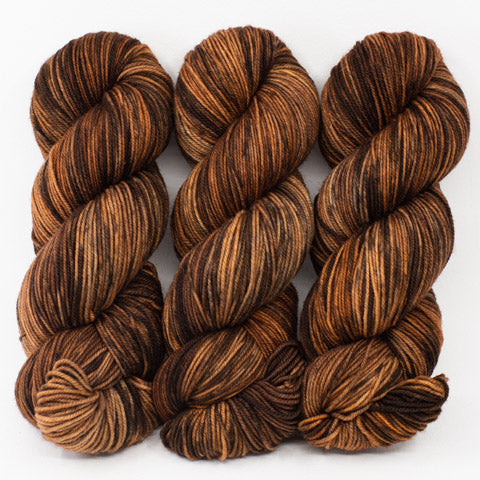 Brown Tabby in Fingering / Sock Weight