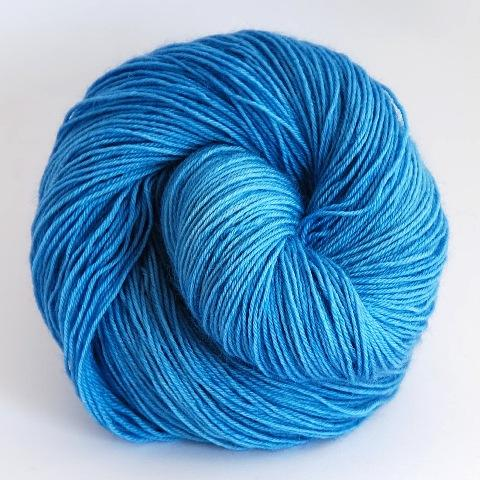 Cat's Eye Cobalt in Fingering / Sock Weight