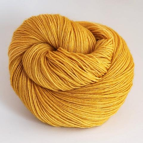 Cat's Eye Gold - Socknado Fingering - Dyed Stock