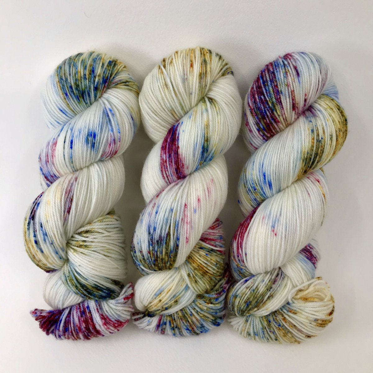 Celebration - Merino DK / Light Worsted - Dyed Stock