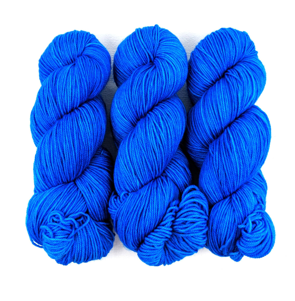Cerulean - Little Nettle Soft Fingering - Dyed Stock