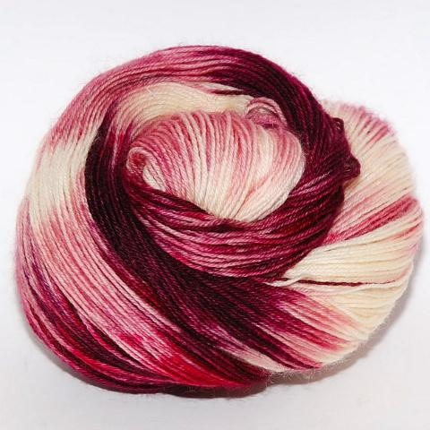 Cherry Custard in DK Weight