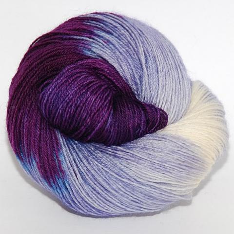 Cheshire Cat - Socknado Fingering - Dyed Stock