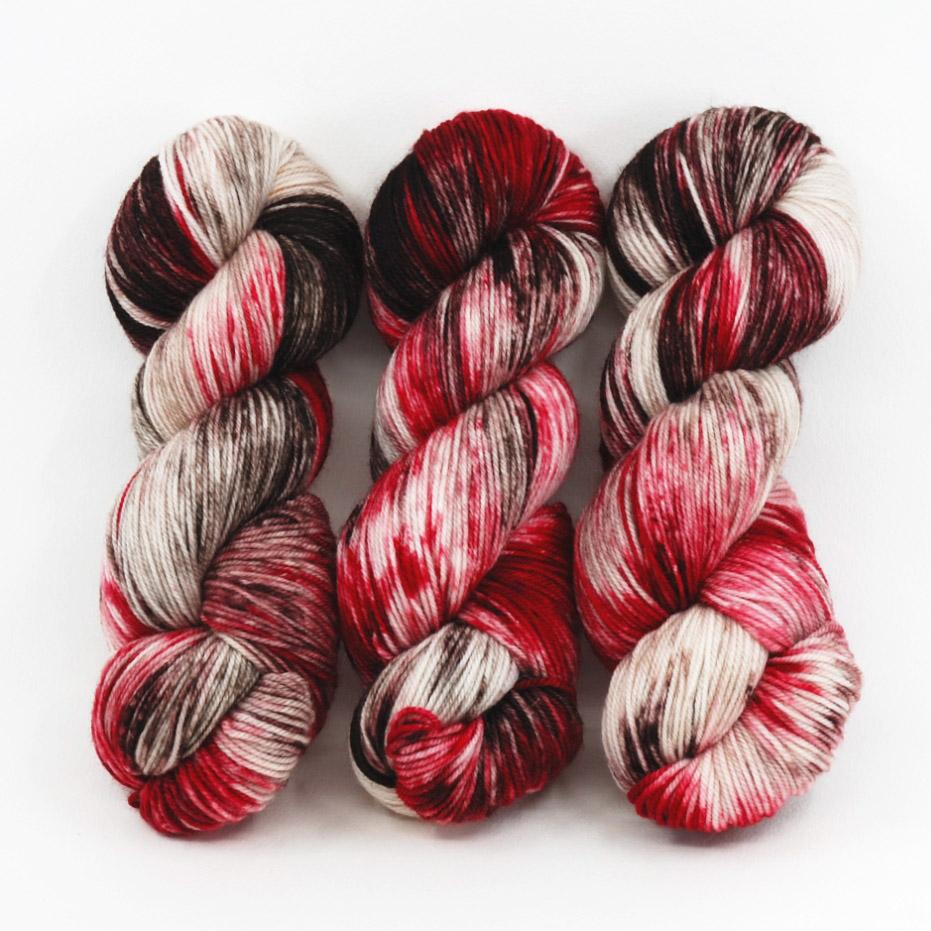 Chocolate Cherries - Merino Singles - Dyed Stock