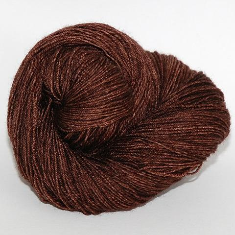 Chocolate Lab - Merino DK / Light Worsted - Dyed Stock