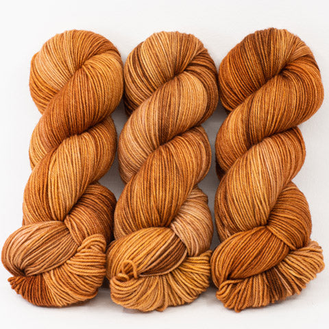 Cinnamon Toast - Merino DK / Light Worsted - Dyed Stock