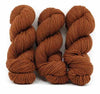 Cinnamon-Lascaux Worsted - Dyed Stock