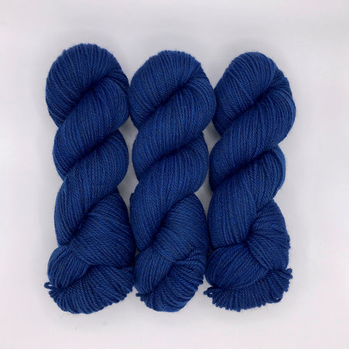 Classic Blue-Lascaux Worsted - Dyed Stock