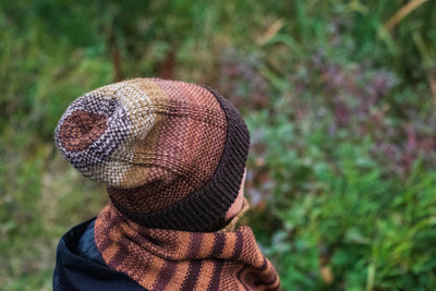 Coffee Break Hat & Scarf Pattern