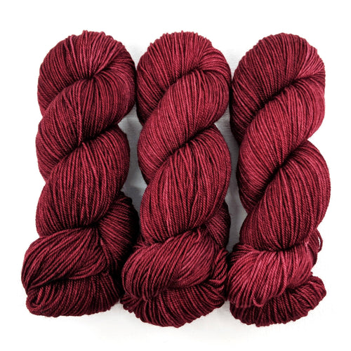 Cranberry - Merino Singles - Dyed Stock