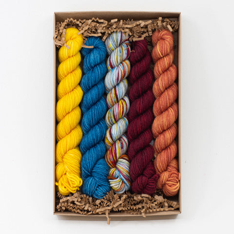 Socknado Twisters Mini Skein Kit - Custom Kit 33