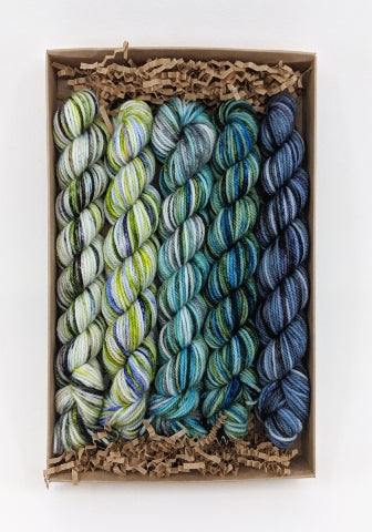 Socknado Twisters Mini Skein Kit - Custom Kit 9 With Pattern!
