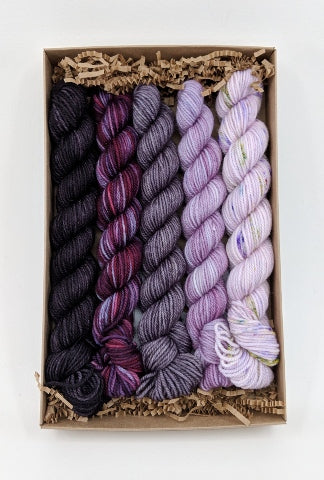 Socknado Twisters Mini Skein Kit - Custom Kit 10 With Pattern!