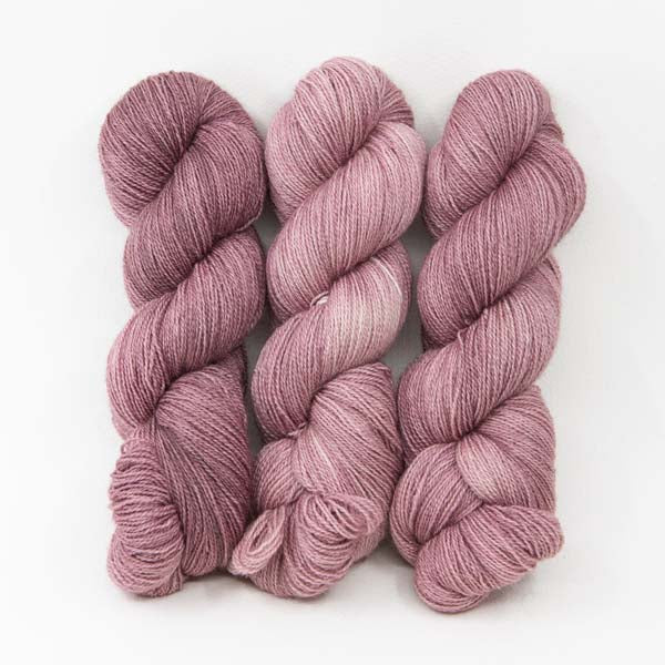 Dusty Rose - 50% BFL Wool / 50% Alpaca Heavy Lace / Light Fingering