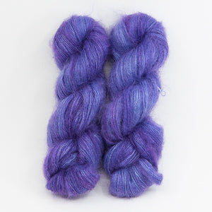 Spanish Lavender - 72% Super Kid Mohair / 28% Mulberry Silk Lace Weight