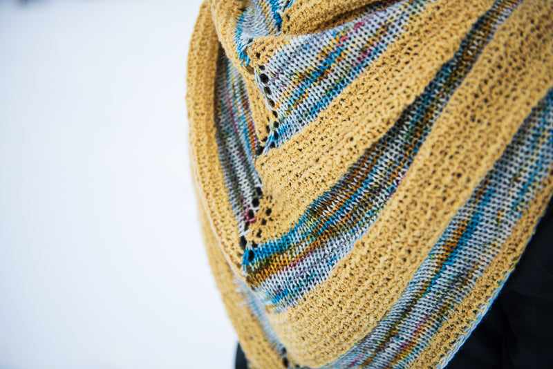 Patchwork Fields Shawl Kit