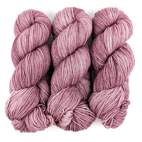 Dusty Rose - Merino DK / Light Worsted - Dyed Stock