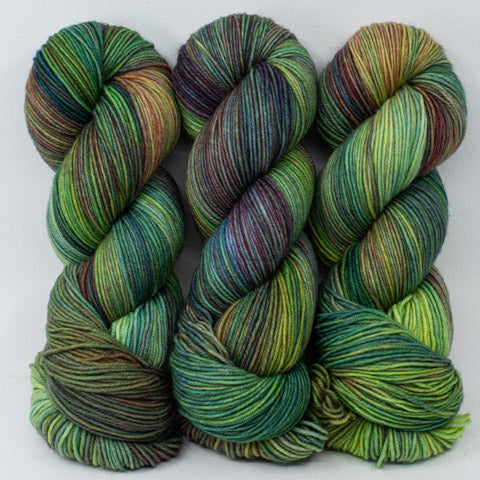 Enchanted Forest - Merino DK / Light Worsted - Dyed Stock