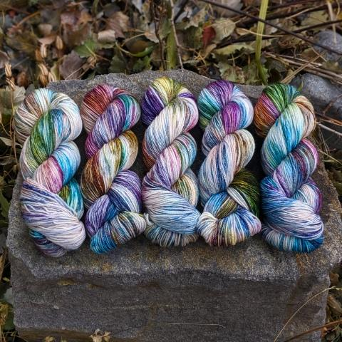 Fairy Pools - Revival Worsted - Dyed Stock