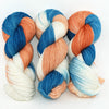 Flame Point Siamese - Little Nettle Soft Fingering - Dyed Stock