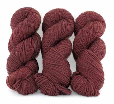 French Bordeaux-Lascaux Worsted - Dyed Stock