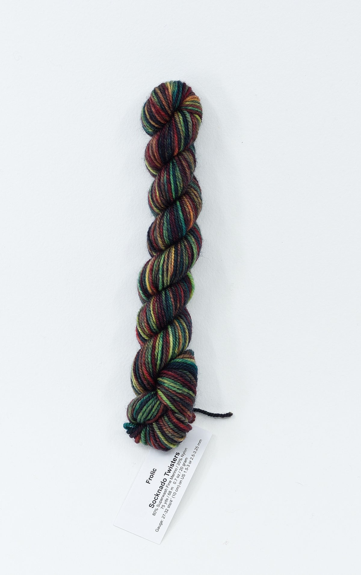 Frolic - Socknado Mini Twister 20 Gram - Dyed Stock