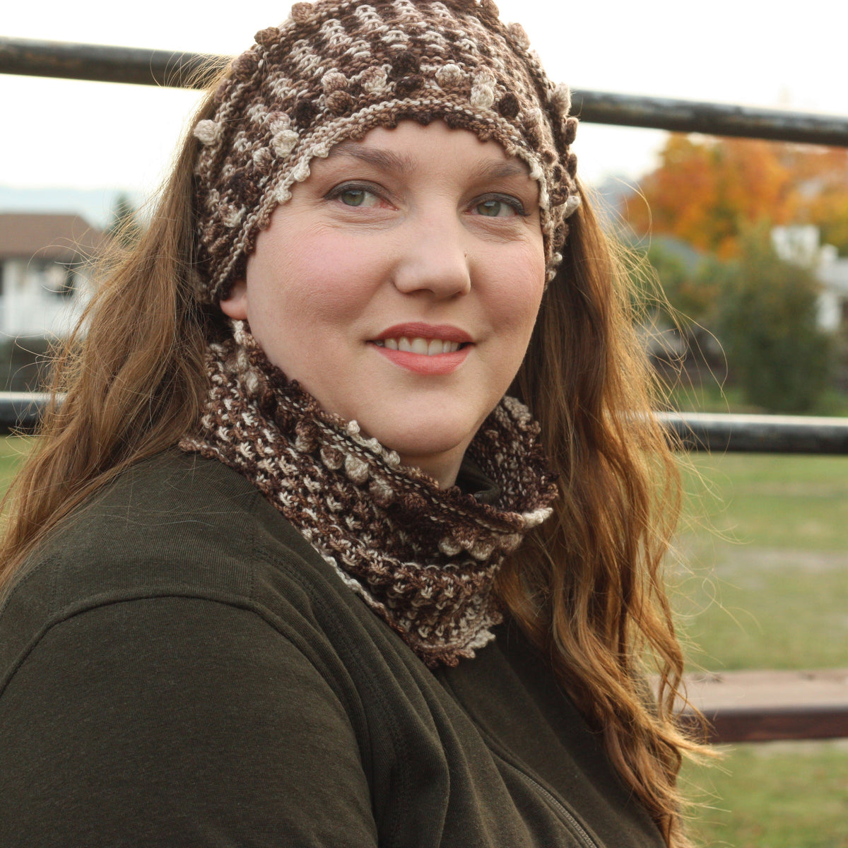 Funky Time Cowl and Headband
