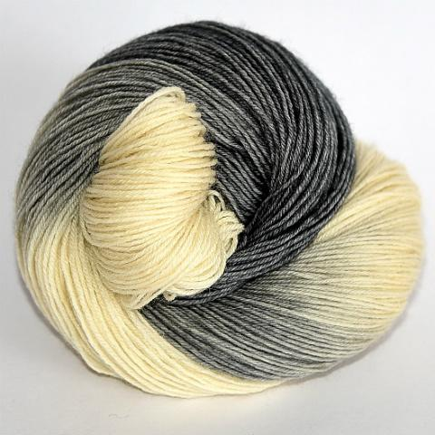 Grey Tuxedo in Fingering / Sock Weight