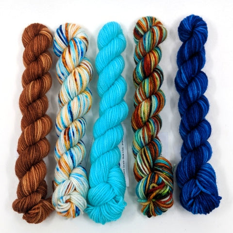 Socknado Twisters Mini Skein Kit - Custom Kit 26