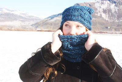 Big Easy Hat, Cowl, & Mitts