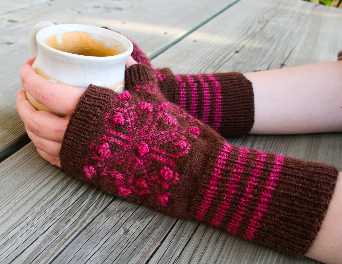 Blooming Fine Mitts