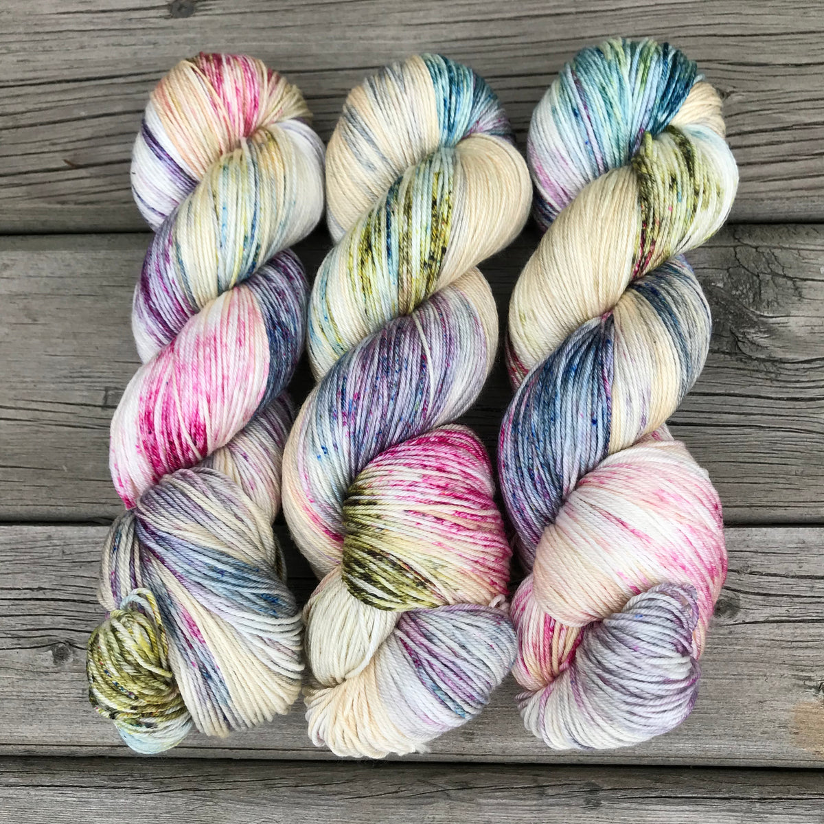 Little Wild Things - Big Squeeze Bulky - Dyed Stock
