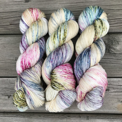 Little Wild Things - Socknado Fingering - Dyed Stock