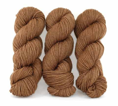 Iced Coffee-Lascaux Worsted - Dyed Stock
