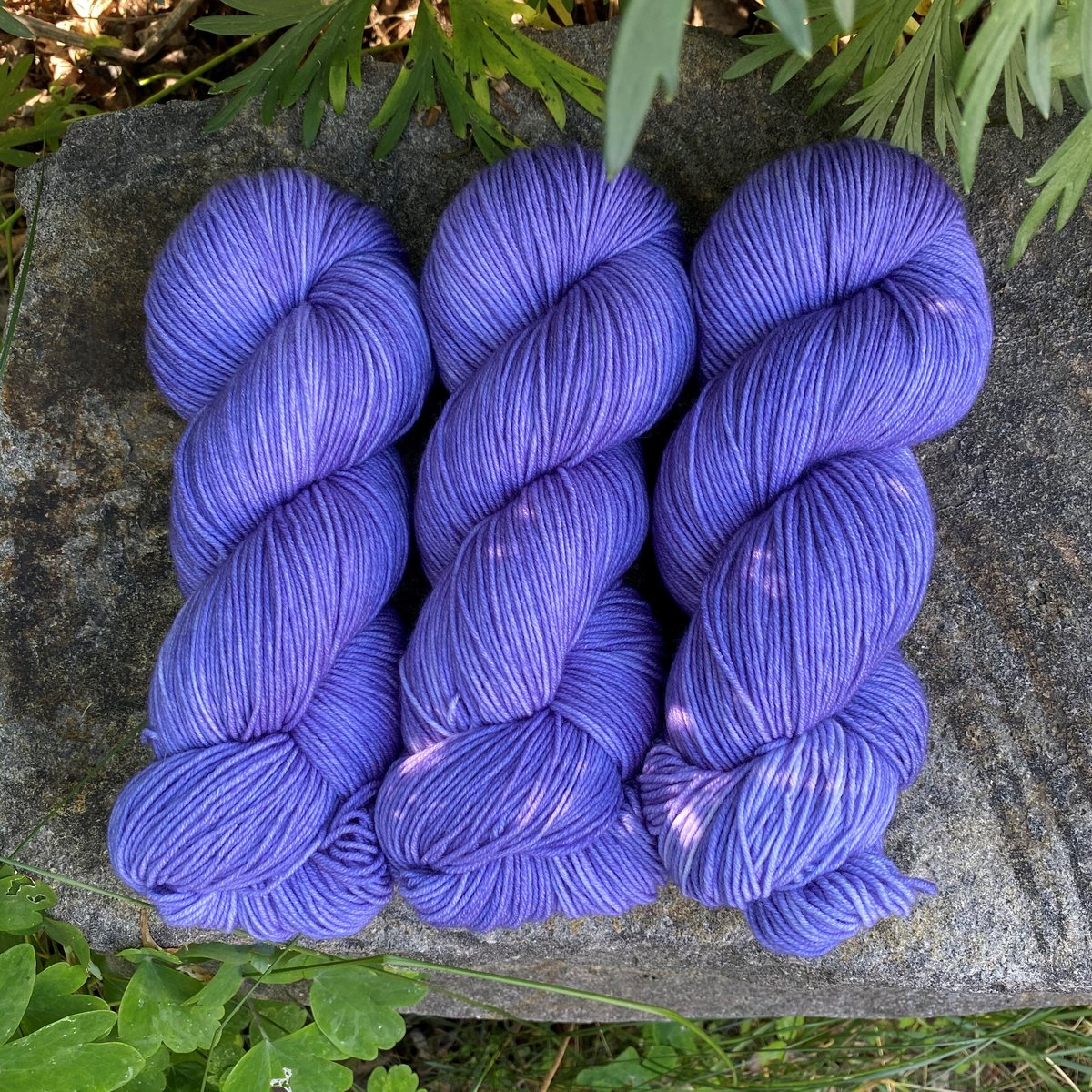 Iris - Little Nettle Soft Fingering - Dyed Stock