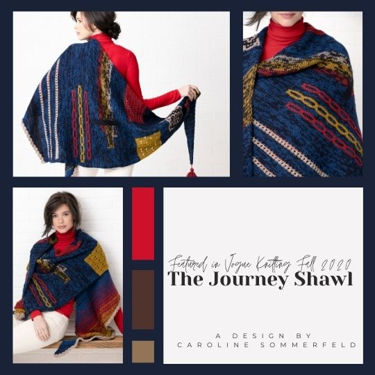Journey Shawl Yarn Kit
