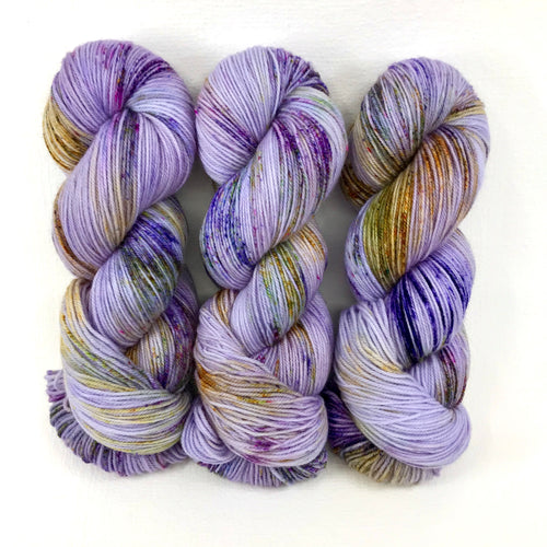 Lavender Fields Forever - Merino DK / Light Worsted - Dyed Stock
