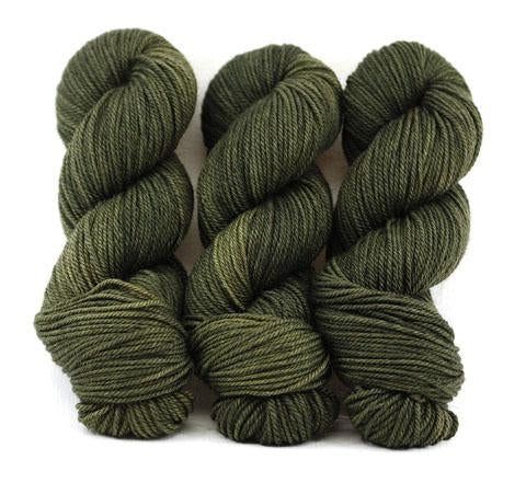 Lodgepole Pine-Lascaux Worsted - Dyed Stock