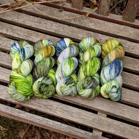 Colour of the Month Subscription - Socknado Fingering / Sock