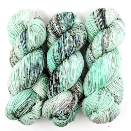Mint Chocolate Chip - Merino DK / Light Worsted - Dyed Stock