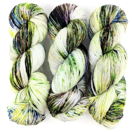 Monet - The Water Lily Pond - Merino Silk Fingering - Dyed Stock