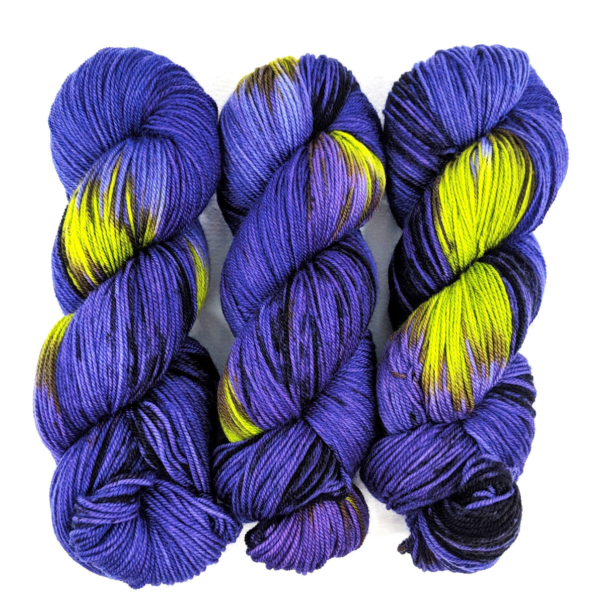 Monsters Under the Bed - Socknado Fingering - Dyed Stock