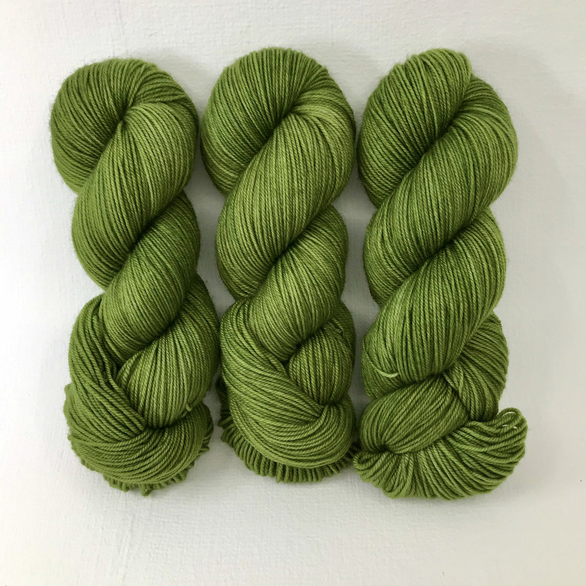 Mossy Bank - Merino Silk Fingering - Dyed Stock
