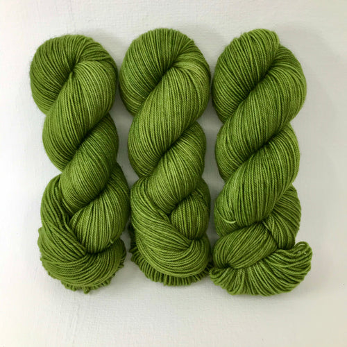 Mossy Bank - Socknado Fingering - Dyed Stock