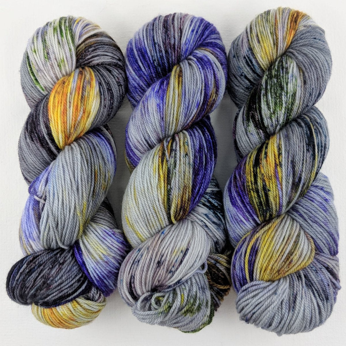 Mountain Primula - Merino Singles - Dyed Stock
