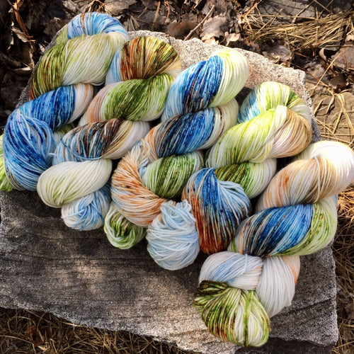 Naughty Little Rabbit - Revival Fingering - Dyed Stock