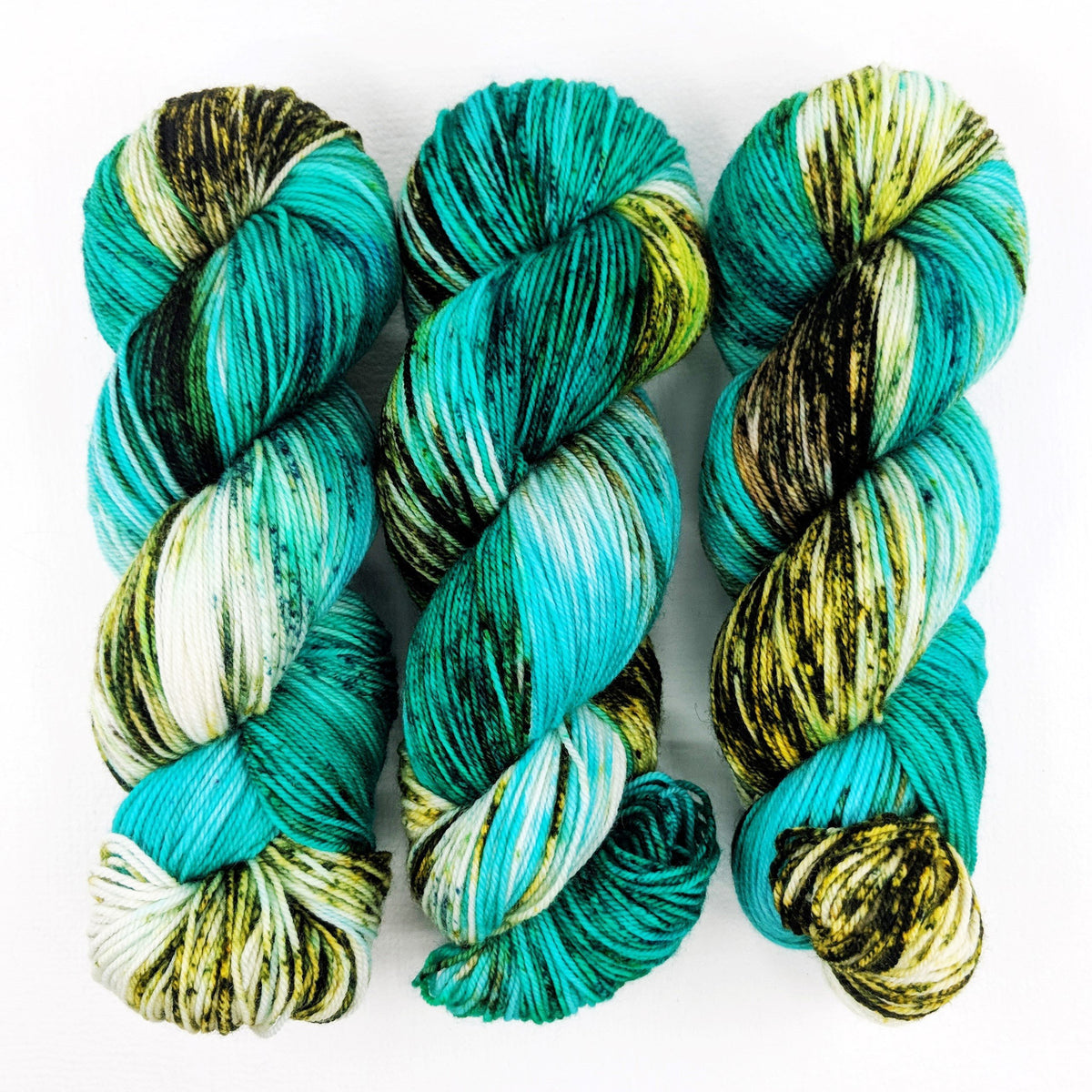 Northern Aurora - Socknado Fingering - Dyed Stock