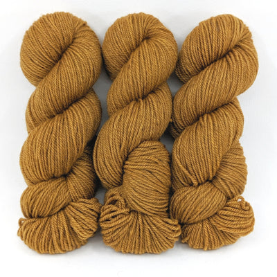 Oak-Lascaux Worsted - Dyed Stock
