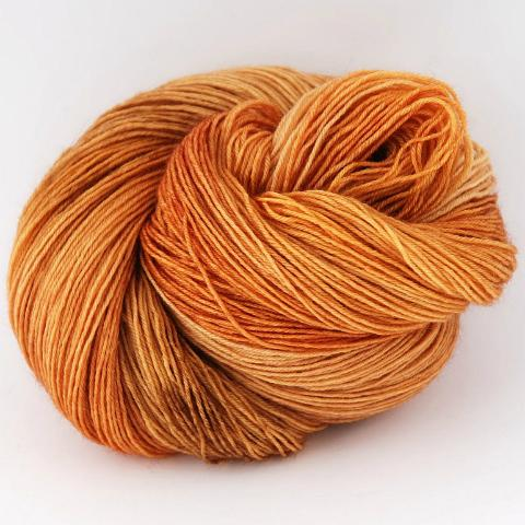 Orange Tabby - Little Nettle Soft Fingering - Dyed Stock