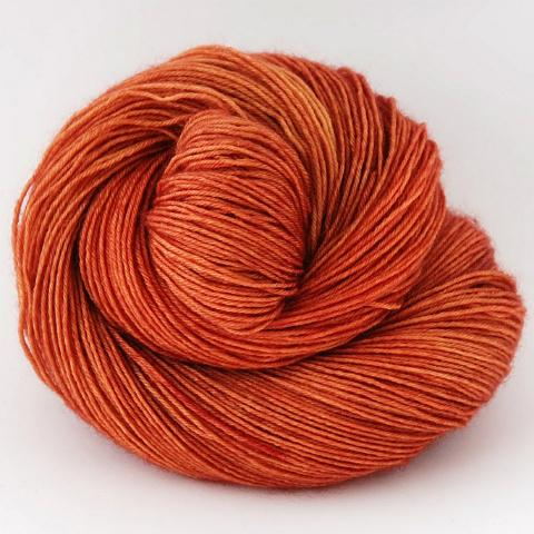 Pumpkin Spice - Merino Silk Fingering - Dyed Stock